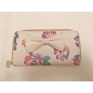 Betsey Johnson Floral Wallet